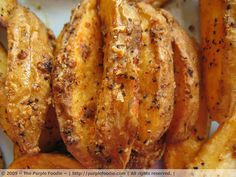 Garlicky Baked Fries by The Purple Foodie, via Flickr