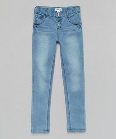 Love this Medium Blue Denim Jeans - Toddler & Girls on #zulily! #zulilyfinds