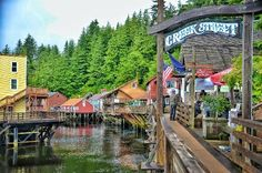 Creek Street Entrance, Ketchikan, Alaska