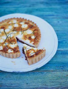 Goats Cheese Tart | Cheese Recipes | Jamie Oliver Recipes