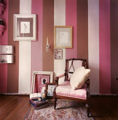 Love Pink + Brown