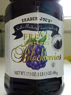 What's Good at Trader Joe's?: Trader Joe's Seedless Blackberry Preserves