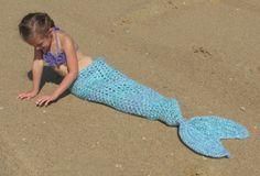 Set of 3 Crochet Patterns for Mermaid Tail by crochetbyjennifer