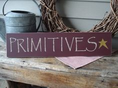 Primitive sign