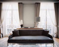 Шторы! Le Royal Monceau Hotel
