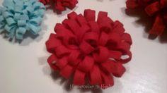 Homemaker in Heels: {CHLOE}: EASY (No-Sew) Fabric Flowers