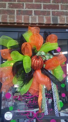 Deco mesh all wreath