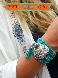 Best Boho Chic Gifts are made by HappyGoLicky Jewelry. SHOP www.HappyGoLickyJewelry.com & use coupon code PIN10 to save 10% now!