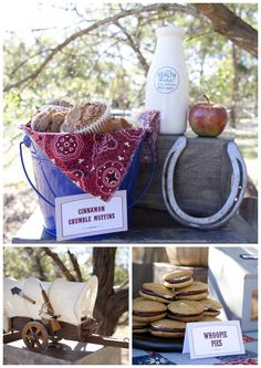 photos of country western party table settings | Wild West Showdown! {cowboy party} | Marabous
