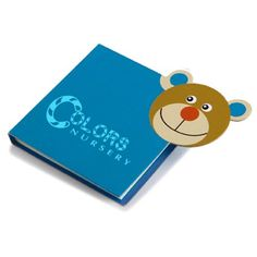 #Printed Childrens Notebooks feature character shaped animals such as: frog, bear or lion. From £0.70.