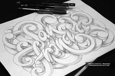 Typography Thursday – Awesome Typography Projects of Marcelo Schultz