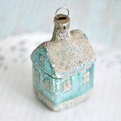 Vintage house ornament
