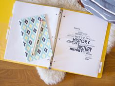 Start off the year being organized with these FREE subject dividers.