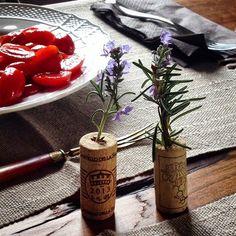 Locandadidoris Rosemary Alecrim Rosmarino cork cortiça table setting table