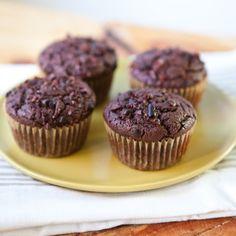 Nibby Chocolate Rye Muffins