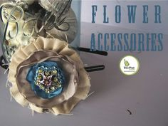 Making these little flowers is really very simple.  And with literally a bazillion ways in which you can use them, embellish them, mix and match them...you will have endless combinations you can come up with for any and every occasion.  Use them in : Headbands and hair accessories Brooches / Pins