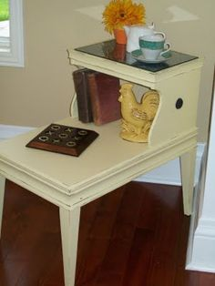 Recaptured Charm: Old Telephone Table Makeover