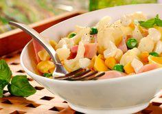 Sałatka z serem i kalafiorem/ Cauliflower and cheese salad, www.winiary.pl