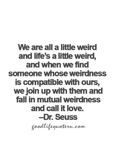 Mutual Weirdness