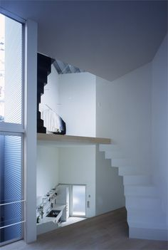 W_Window house by Alphaville #architecture #japan #stair