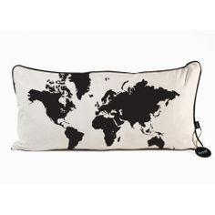 World Map Pillow - Ferm Living