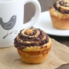 Chocolate Swirl Buns by Tracey's Culinary Adventures, via Flickr