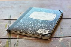 How to: Make a Stylish iPad Case from a Notebook