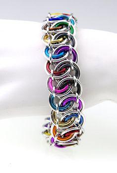 chainmaille tutorial, bracelets, garter weav, weav bracelet, garters, chainmaill tutori