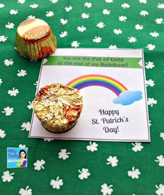 FREE Pot Of Gold St. Patrick's Day Printables