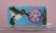 Hummingbird Tea Light Cover by Diane Masters AKA Phoenix Wolf Creations