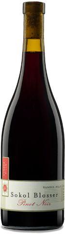 Shared a bottle of Sokol Blosser's 2007 Dundee Hills Goosepen Block Pinot Noir last night. Great stuff.