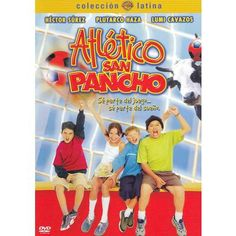 """A red Coca Cola soccer ball falls from the sky and is taken as sign by the old school janitor that he must revive the soccer tradition of his village. With the help of a former pro who has come home to run his father's tiny store, janitor Don Pepe assembles a school team named Atletico San Pancho. Anglicized title """"Never Too Young to Dream"""".  In Spanish with English subtitles."""