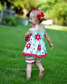 Girls Jumper Dress Pattern