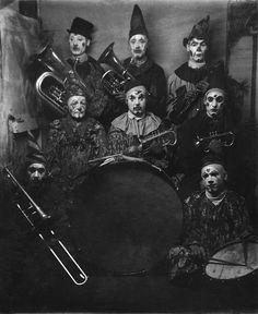 Luna Park Clowns - 1909