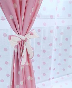 Pink Curtains On Pinterest