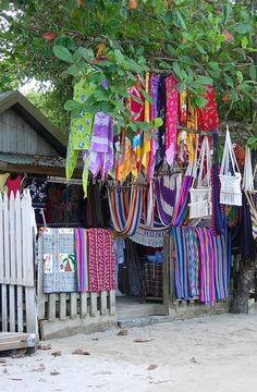 shop, West End, Roatan, Honduras