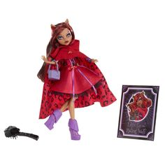 Monster High Scary Tales Clawdeen Wolf