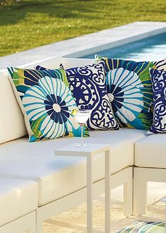 These designs look stunning anywhere you put them--indoors or out.