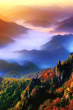 ✯Mt Daedun Provincial Park - Sambuk-ri in Unja-Myeon - South Korea