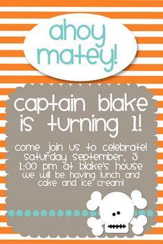 Pirate Birthday Party {Free Printables}