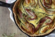 Bacon Zucchini Quiche Recipe by Always With Butter