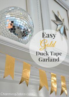 Duck Tape Garland