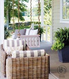 Porch Design by Ballard Designs
