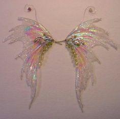 how to: fairy wings clay, idea, craft, fairi garden, fairi wing, wing tutori, faeri, art doll, candi fairi