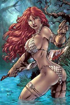 Red Sonja by Ed Benes