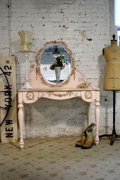 Painted Cottage Shabby Romantic Vanity VAN34