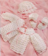 Free Knitting Patterns For Newborn Sweater Sets : Crochet Baby Sweaters on Pinterest Baby Cardigan ...
