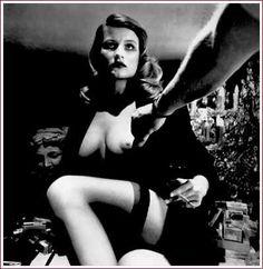 Helmut Newton | Study for voyeurism