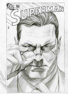 Clark Kent/ Superman - by Alex Ross