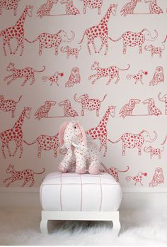 cute wallpaper for girls room - Lulu DK kids line